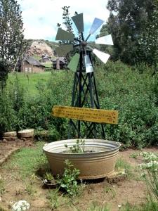 By Finn's Place in die Drakensberge.