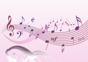 music-staff-pink